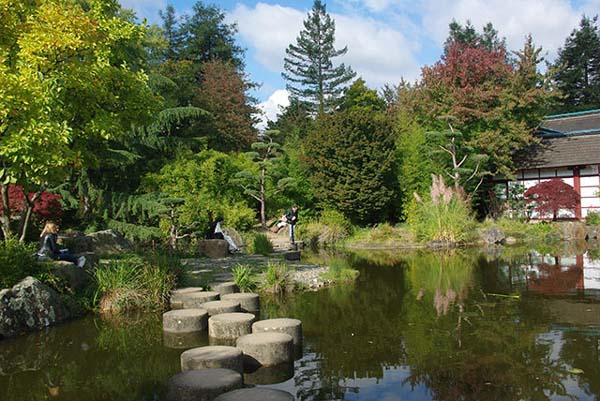 jardin de l'île de Versailles à Nantes