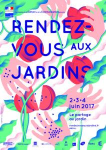 Affiche RDV aux Jardins
