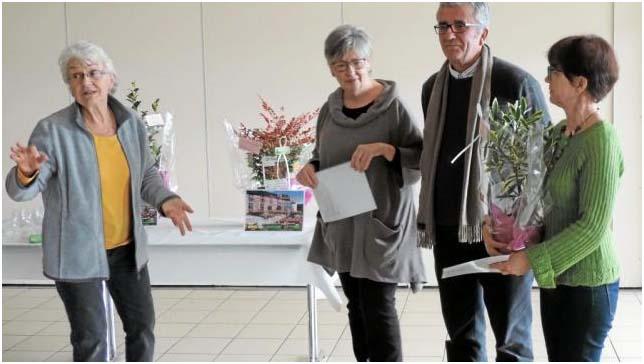 La Chapelle-Thouarault: Remise des prix aux lauréats des maisons fleuries