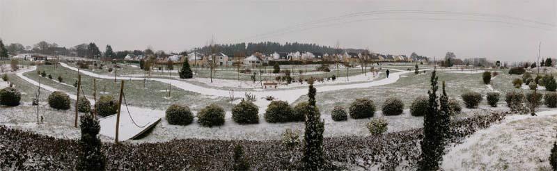 Arboparc sous la neige  2018