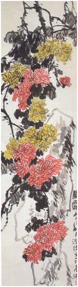 Peinture de Chrysanthème de Chuan Yuenyee