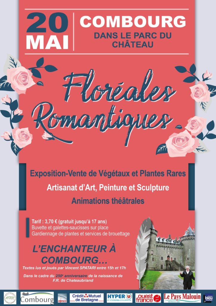 affiche floréales romantiques_com