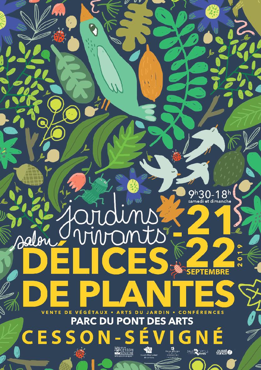 Une visite à Délices de Plantes 2019: Jardins vivants