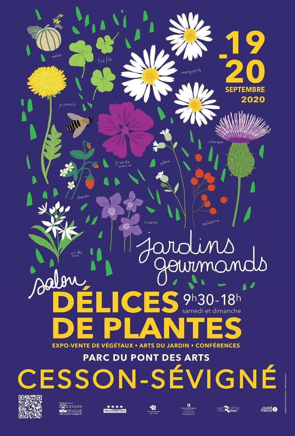 Délices de plantes 2020, Jardins gourmands